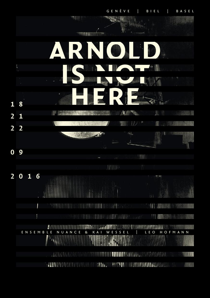 Arnold is not here 1